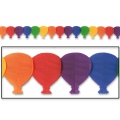 Rainbow Coloured Balloon Garland